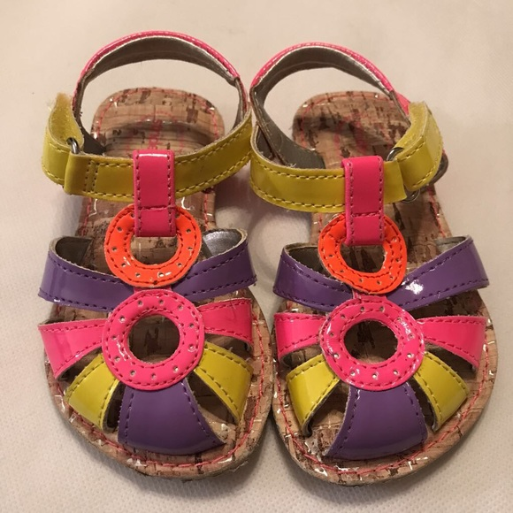 Stride Rite Other - Stride Rite Sandals Sz 5 colorful new no tags